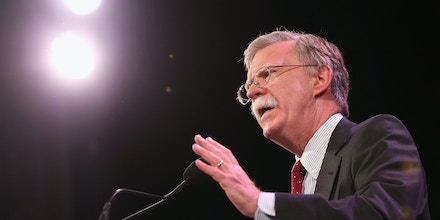 John Bolton speaks to guests  at the Iowa Freedom Summit on January 24, 2015 in Des Moines, Iowa.