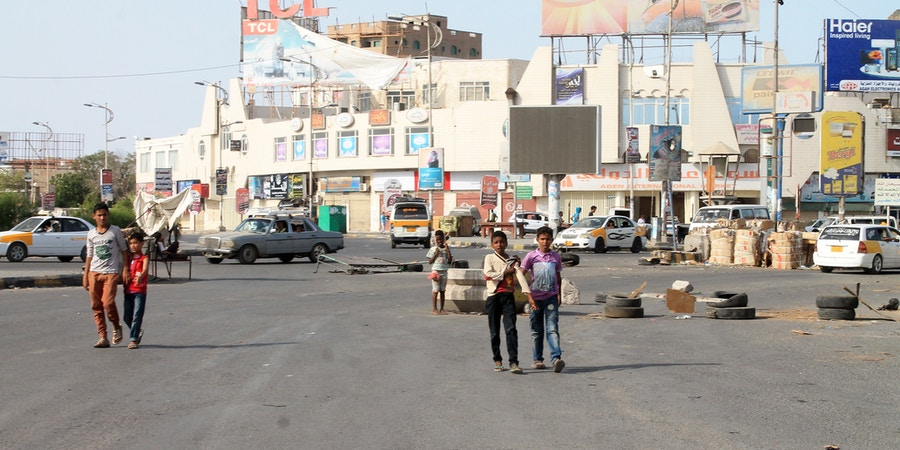 Cars drive on a main road in the Sheikh Othman area, in the southern Yemeni port city of Aden, on May 13, 2015. King Salman doubled Saudi Arabia's Yemen aid commitment to $540 million, the first day of a humanitarian pause in a bombing campaign it has led against neighbouring rebels. AFP PHOTO / SALEH AL-OBEIDI        (Photo credit should read SALEH AL-OBEIDI/AFP/Getty Images)