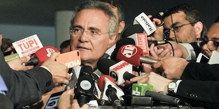 Presidente do Senado, senador Renan Calheiros (PMDB-AL) concede entrevista.Foto: Jane de Araújo/Agência Senado