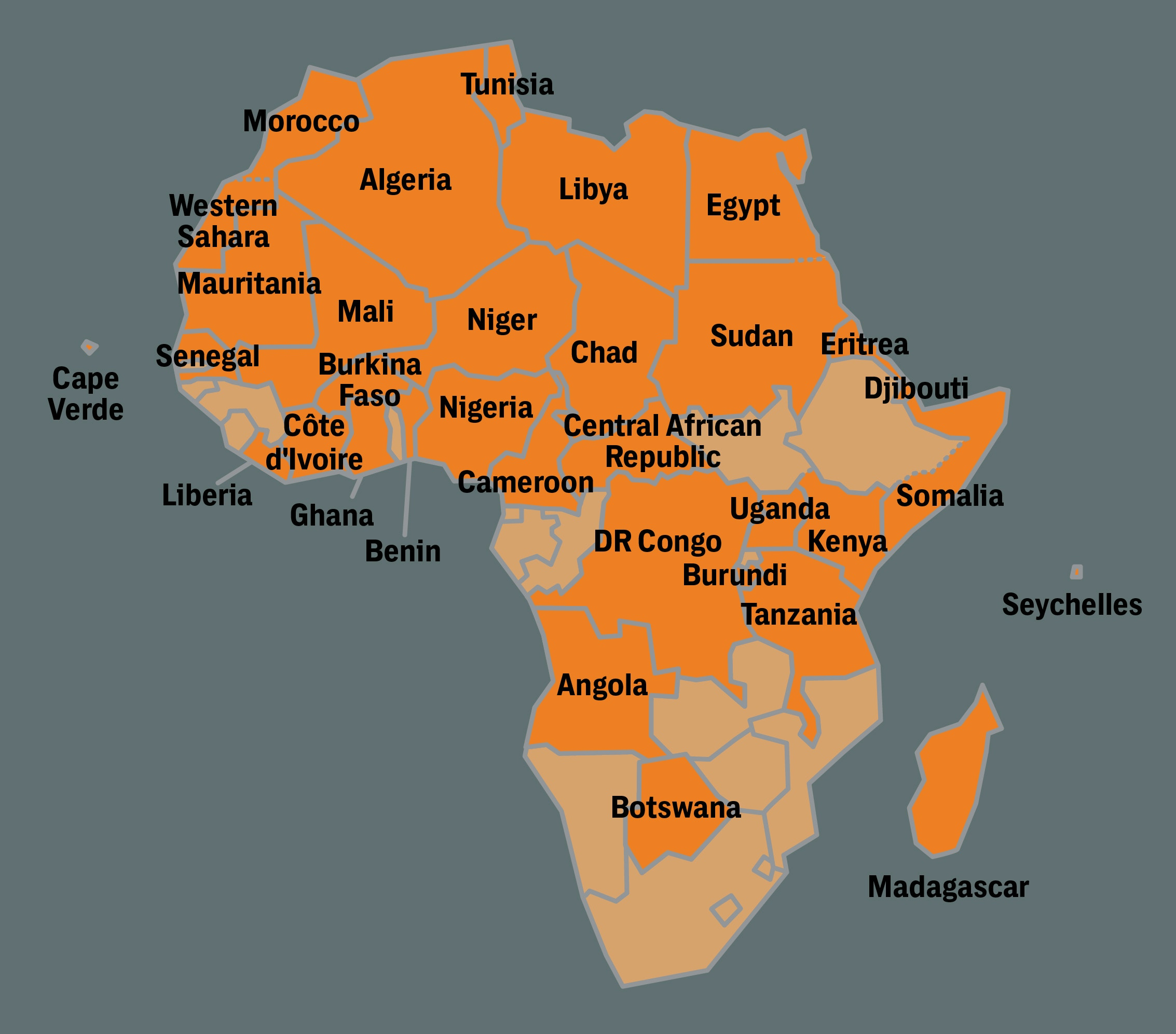 U.S. Special Operations Numbers Surge in Africa\'s Shadow Wars