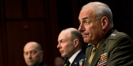 Navy Adm. James Stavridis, commander of the U.S. European Command and Supreme Allied Commander, Europe; Army Gen. Charles Jacoby Jr., commander of the U.S. Northern Command and commander of the North American Aerospace Defense Command; and Marine Corps Gen. John Kelly, commander of the U.S. Southern Command, testify at a Senate Armed Services committee hearing on U.S. European Command, U.S. Northern Command, and U.S. Southern Command in review of the Defense Authorization Request for FY2014 and the Future Years Defense Program.