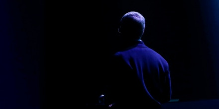 SAN FRANCISCO, CA - MARCH 9: Apple CEO Tim Cook exits the stage after an Apple special event at the Yerba Buena Center for the Arts on March 9, 2015 in San Francisco, California. Apple Inc. announced the new MacBook as well as more details on the much anticipated Apple Watch, the tech giant's entry into the rapidly growing wearable technology segment as well (Photo by Stephen Lam/Getty Images)