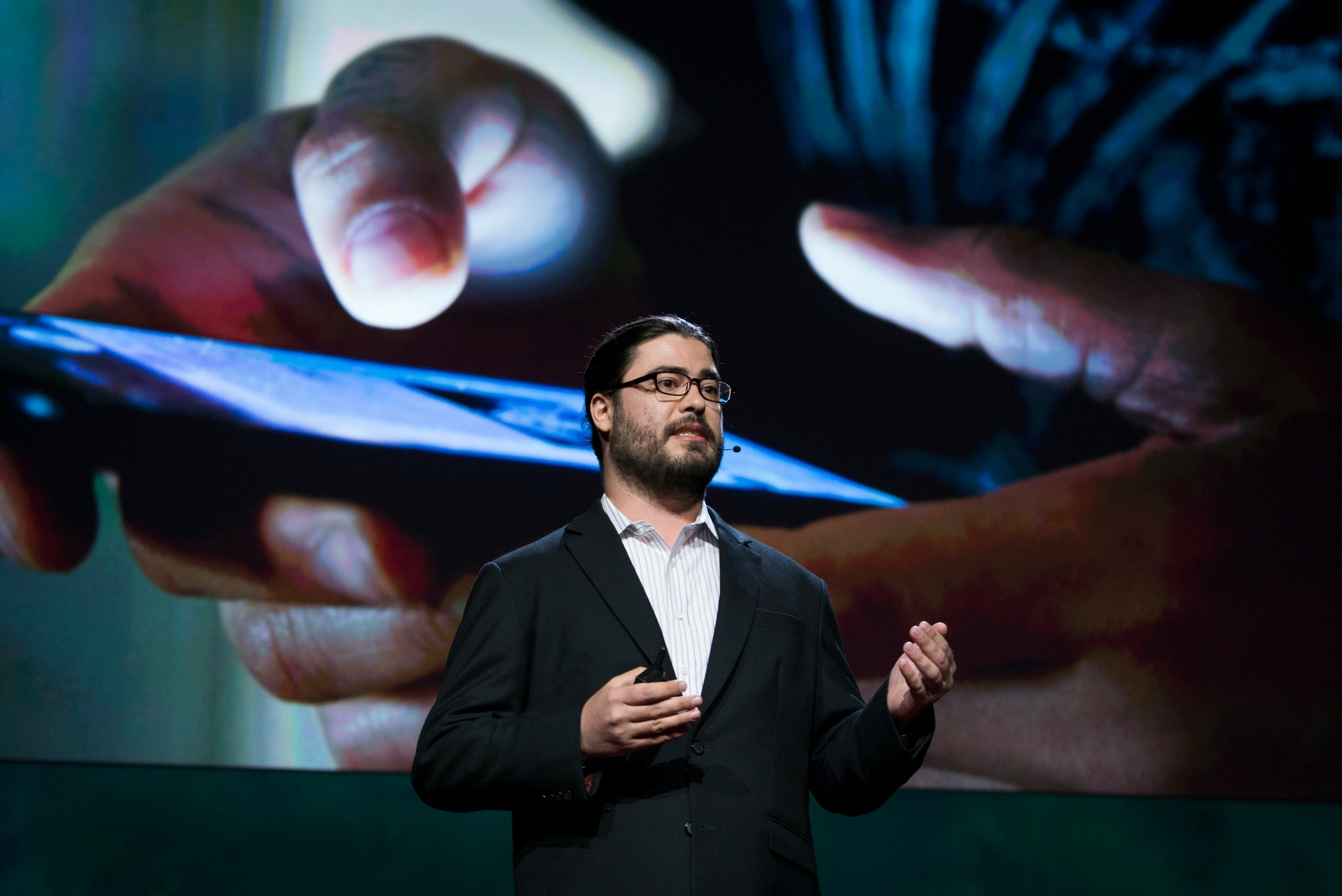 Chris Soghoian at TEDSummit2016, June 26 - 30, 2016, Banff, Canada. Photo: Bret Hartman / TED