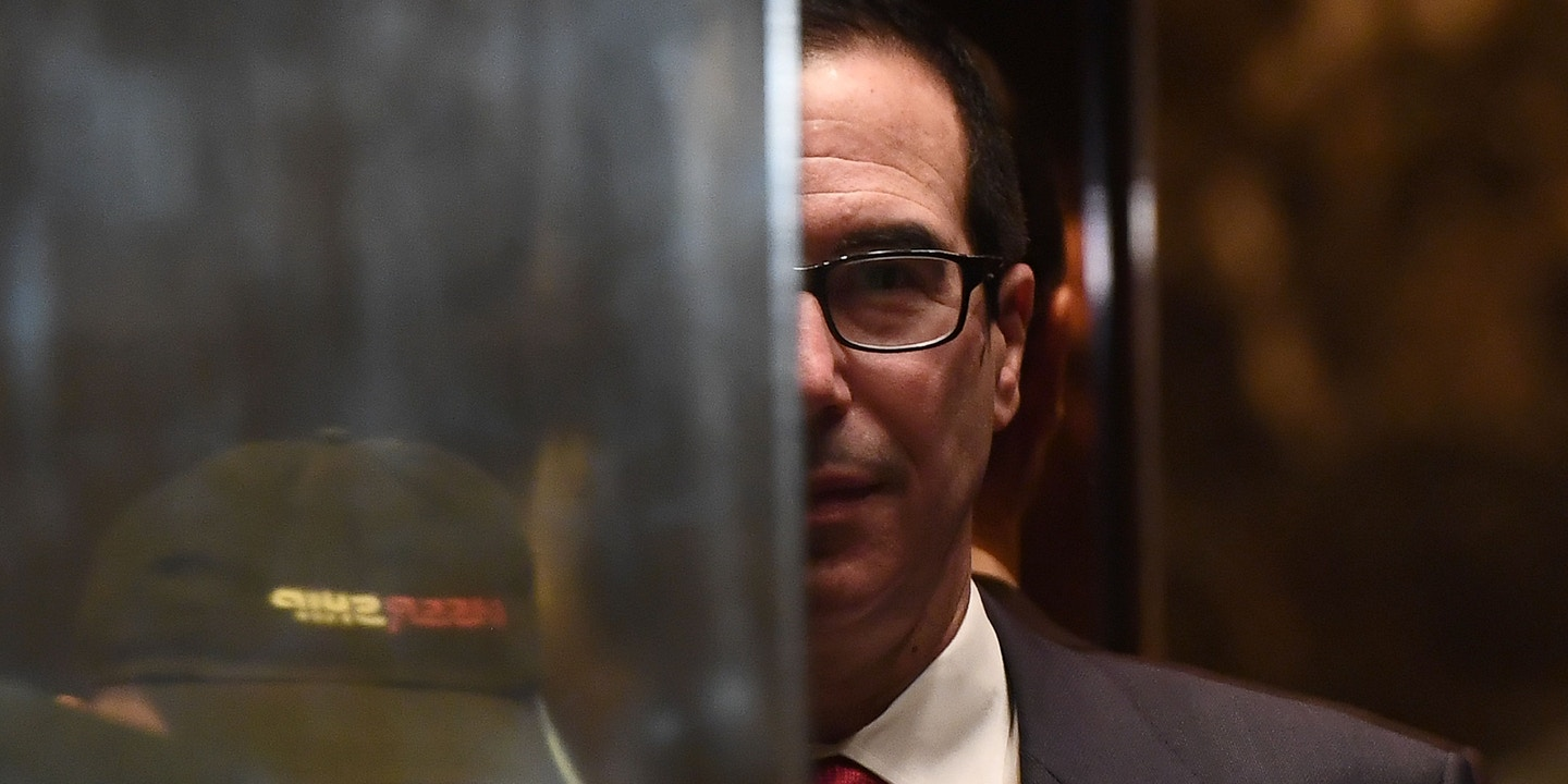 Mnuchin's Bank Accused of
