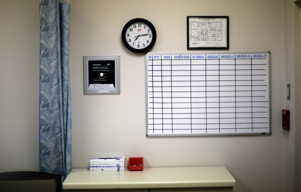 A counseling room is seen during a tour at Whole Woman's Health of San Antonio, Tuesday, Feb. 9, 2016, in San Antonio.  The Supreme Court will soon hear Whole Woman's Health's challenge to HB2, Texas legislation that requires all abortion facilities to meet heightened requirements by becoming ambulatory service centers.  (AP Photo/Eric Gay)