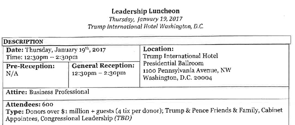 "Donald Trump's ""Public"" Inaugural Balls Divided High-Dollar, Low ..."