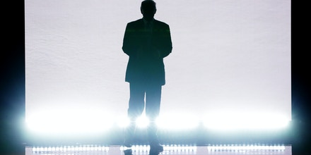 CLEVELAND, OH - JULY 18: Presumptive Republican presidential nominee Donald Trump enters the stage to introduce his wife Melania on the first day of the Republican National Convention on July 18, 2016 at the Quicken Loans Arena in Cleveland, Ohio. An estimated 50,000 people are expected in Cleveland, including hundreds of protesters and members of the media. The four-day Republican National Convention kicks off on July 18. (Photo by Alex Wong/Getty Images)