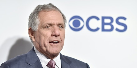 Leslie Moonves, President and CEO of CBS Corporation, attends the CBS Upfront 2016 at the Oak Room in the Plaza Hotel in New York, NY, on May 18, 2016. (Photo by Anthony Behar) *** Please Use Credit from Credit Field ***
