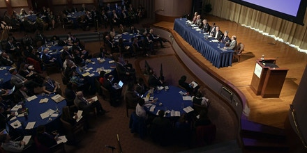 February 16, 2017, Atlanta, GA.  Climate and Health Meeting at the Carter Center.  Photo by Michael A. Schwarz