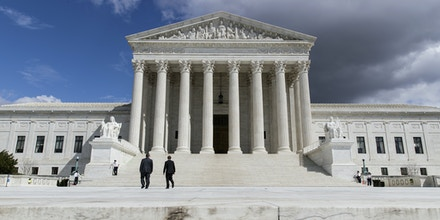 The Supreme Court Building is seen in Washington, Tuesday, March 28, 2017. (AP Photo/J. Scott Applewhite)