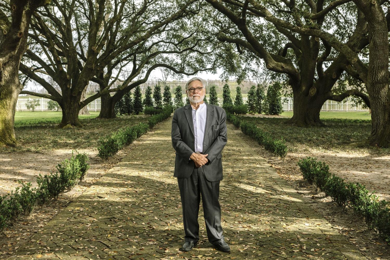 Edgard, LA - Feb 20, 2017 - John Cummings at Whitney Plantation.