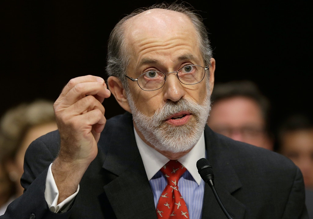 Frank Gaffney testifies during a hearing of the Senate Judiciary Committee July 24, 2013 in Washington, DC.