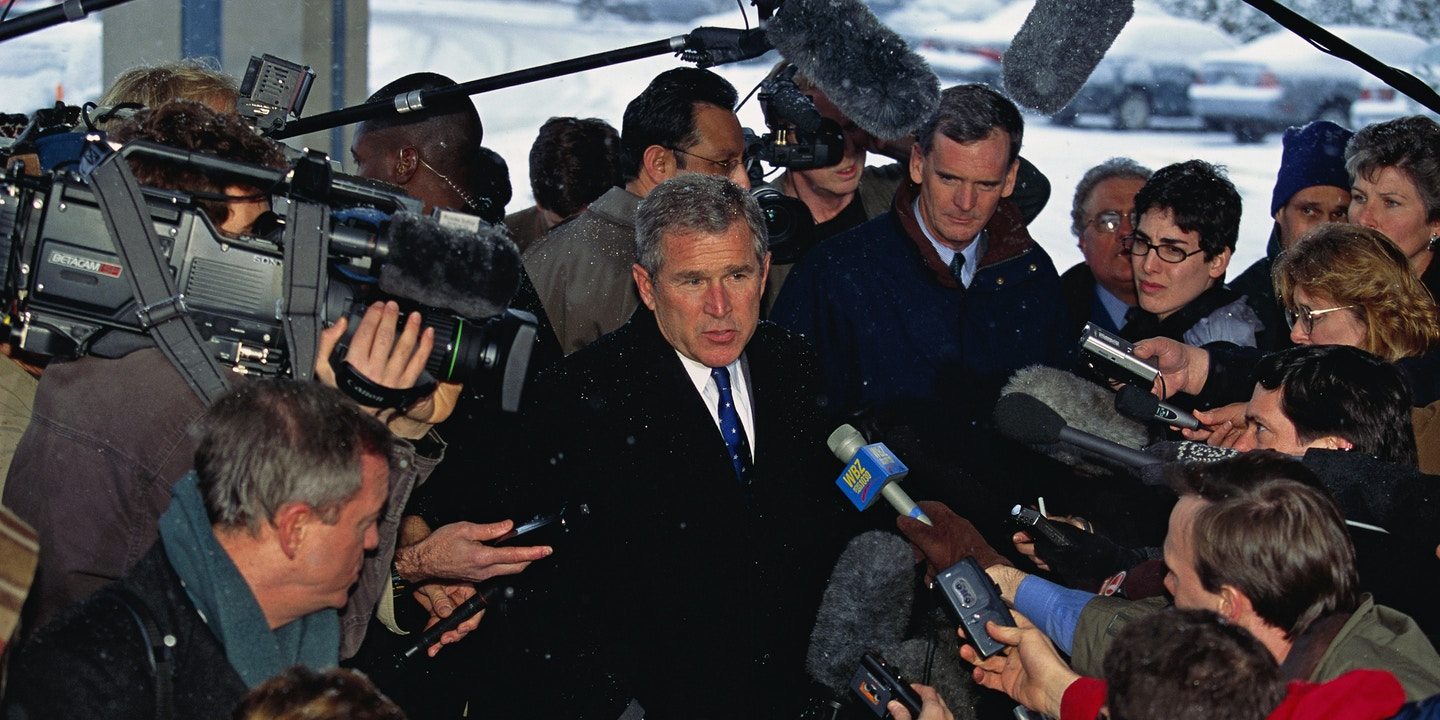 Trump Insults the Media, but Bush Bullied and Defanged It to