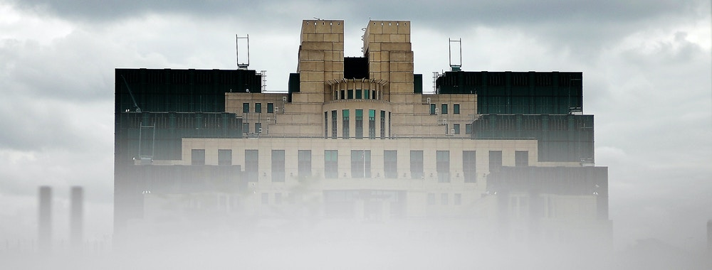 "London, UNITED KINGDOM: The headquarters of Britain's MI6 intelligence agency are pictured in London, 31 May 2007. The ex-KGB agent Andrei Lugovoi, wanted in Britain for the radioactive poisoning in London last year of the former Russian intelligence agent turned critic of President Vladimir Putin, Alexander Litvinenko, insisted Today on his innocence during a press conference in Moscow. Lugovoi said that either MI6, the Russian mafia, or fugitive Kremlin opponent Boris Berezovsky carried out the killing. Lugovoi claimed that both Berezovsky and Litvinenko were working for MI6. ""The poisioning of Litvinenko couldn't have taken place outside the control of Great Britain's special services,"" Lugovoi told journalists in Moscow. AFP PHOTO/BERTRAND LANGLOIS (Photo credit should read BERTRAND LANGLOIS/AFP/Getty Images)"