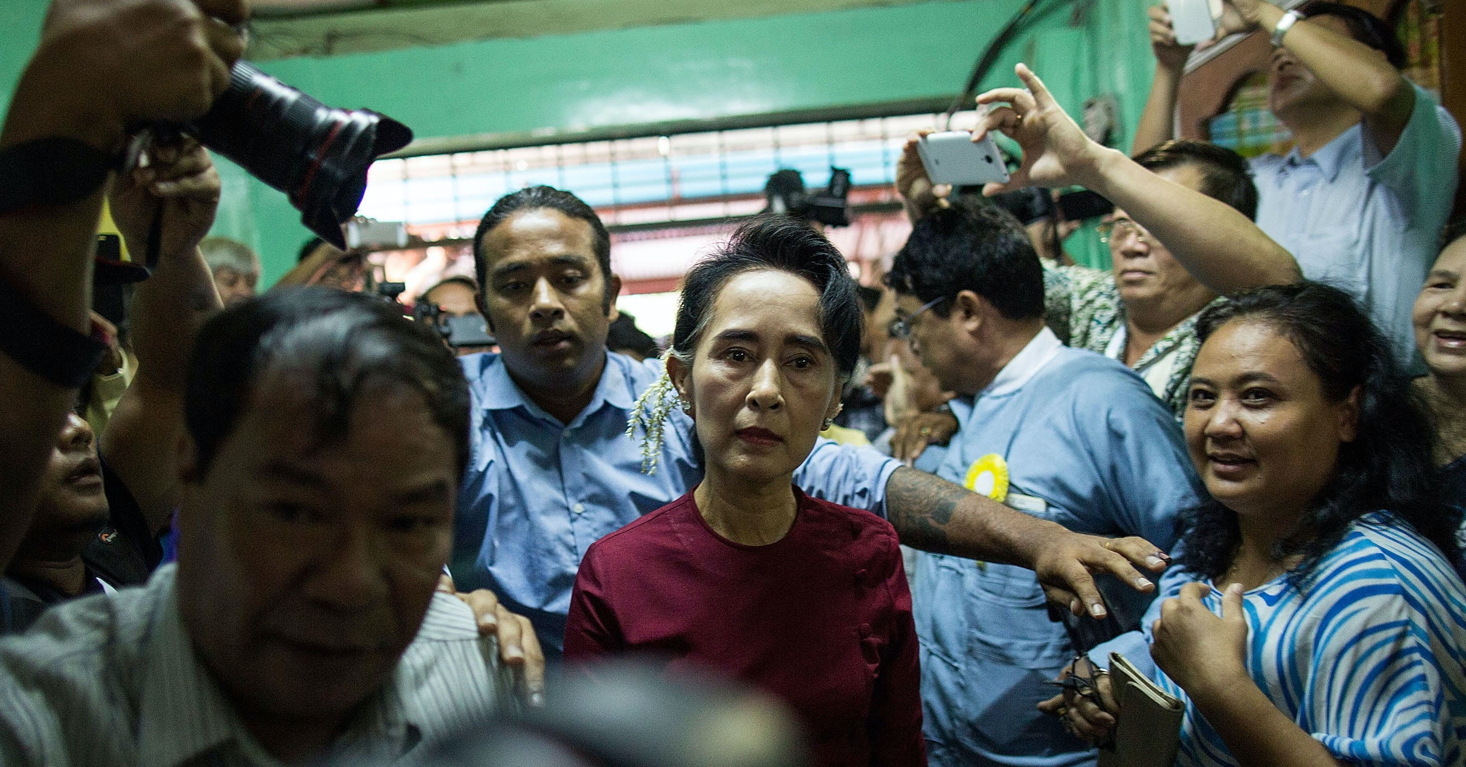 Burmese Nobel Prize Winner Aung San Suu Kyi Has Turned Into an Apologist for Genocide Against Muslims