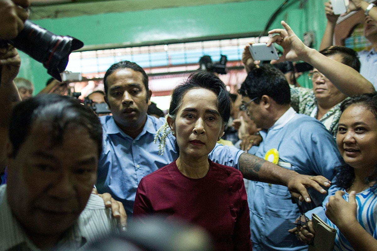 Aung San Suu Kyi Has Turned Into Apologist for Genocide