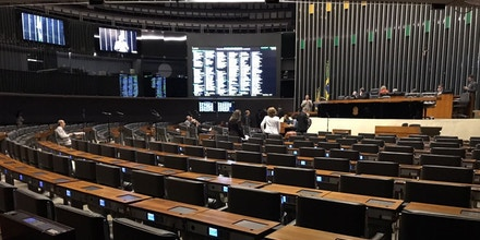 Plenário da Câmara dos Deputados.