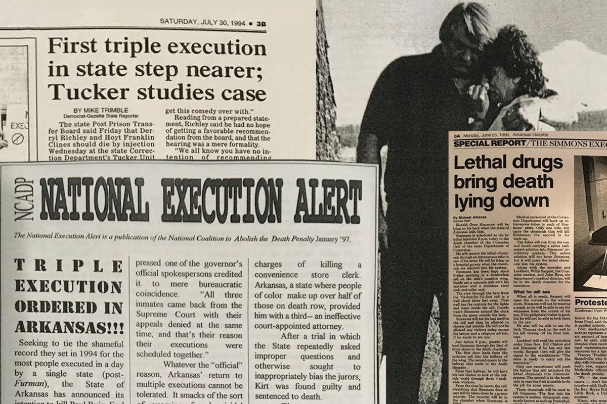 Arkansas Plans To Execute Seven People This Month Continuing Long