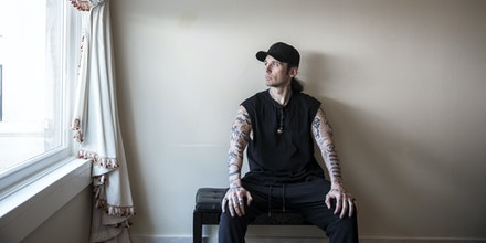 Damien Echols, who was released from death row after he was exonerated in 2011, at the Capital Hotel in Little Rock, Ark., April 14, 2017. Echols returned to Arkansas to implore Gov. Asa Hutchinson to abandon his plan to execute seven convicted murderers in a span of 10 days, a rate unprecedented in the modern history of the American death penalty. (Tamir Kalifa/The New York Times)