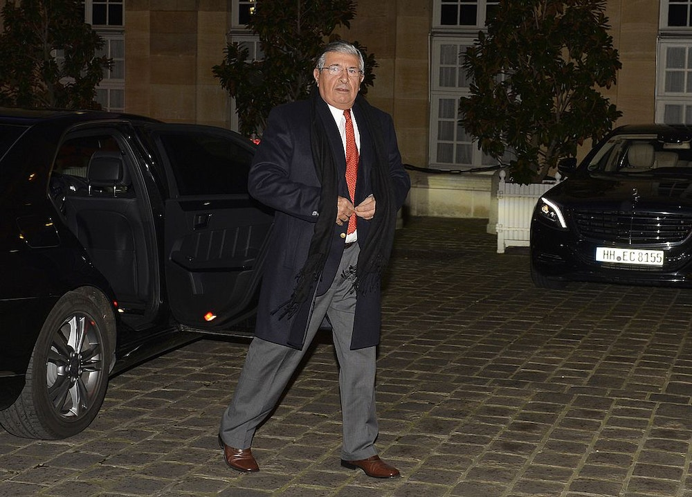 Gilberto Bomeny, President of the ITC company, arrives for a dinner with the French Prime Minister and international business leaders participating in a 'Strategic Council for Attractiveness', at the Hotel Matignon in Paris on February 16, 2014. The leaders of Siemens, Volvo, General Electric, Nestle, and many other companies, including some from Kuwait and Qatar, attended the dinner with the French Prime Minister on the eve of a 'Strategic Council on Attractiveness' conference aimed at promoting France as a country ready for new business investments and opportunities. AFP PHOTO / MIGUEL MEDINA        (Photo credit should read MIGUEL MEDINA/AFP/Getty Images)