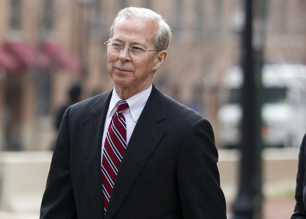 FILE - In this Jan. 26, 2012, file photo, Dana Boente, then-First Assistant U.S. Attorney for the Eastern District of Virginia leave federal court in Alexandria, Va. President Donald Trump has fired Acting Attorney General Sally Yates after she announced she would not defend his controversial immigration order. And he's naming Boente, U.S. Attorney for the Eastern District of Virginia, to serve in her place. (AP Photo/Evan Vucci, File)