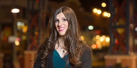 In this photo provided by her campaign, Danica Roem, a candidate for Virginia's House of Delegates, poses for a portrait.