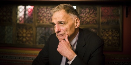 Former Presidential Candidate and consumer activist Ralph Nader in Washington, DC on Thursday, January 31, 2008.