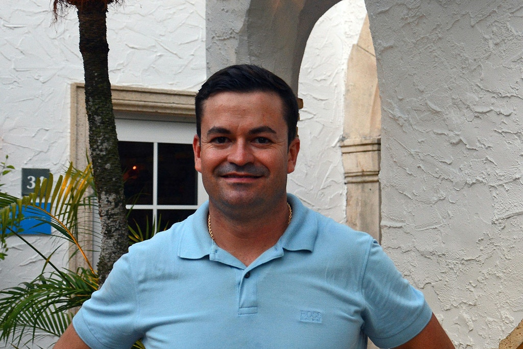 9745: Francisco Javier Gonzalez supported Donald Trump's bid for presidency. Now, he finds himself a potential target for deportation under Trump's immigration policies. July 25, 2017. Palm Beach, Florida.