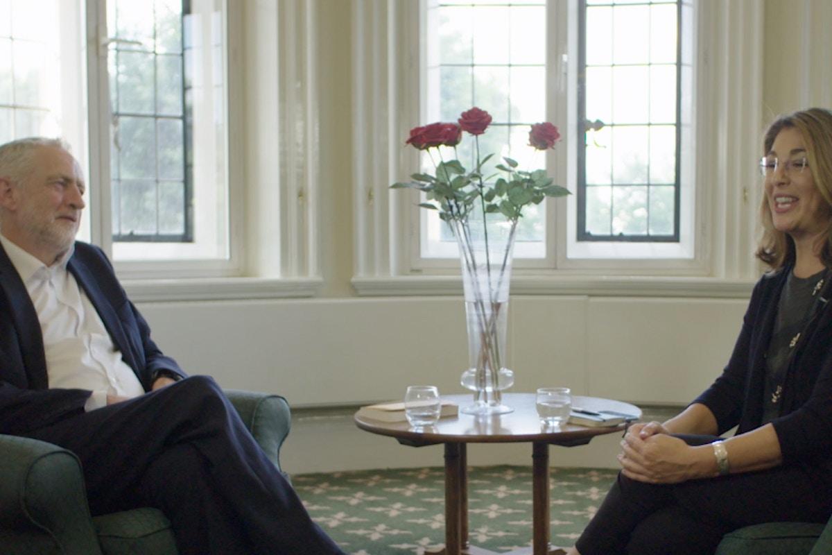 Video: Naomi Klein e Jeremy Corbyn debatem o mundo que queremos