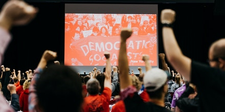 Chicago, IL - Aug 4th, 2017 - Democratic Socialists Convention at UIC
