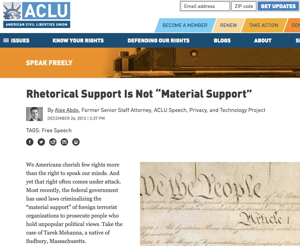 The Misguided Attacks on ACLU for Defending Neo-Nazis' Free