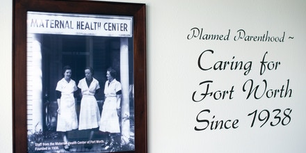 FORT WORTH, TEXAS - AUGUST 17: Interior of the Planned Parenthood facility in Fort Worth, TX, on Thursday, August 17, 2017.Aubrey Reinhardt was a 20-year-old senior at Texas Tech University in Lubbock, TX, she sought birth control from the university clinic and says she found herself facing the ideological leanings of a clinic physician whom hesitated to prescribe the medication. As a result, Reinhardt visited one of the nearest Planned Parenthood facilities which was located four hours east in Fort Worth, TX.