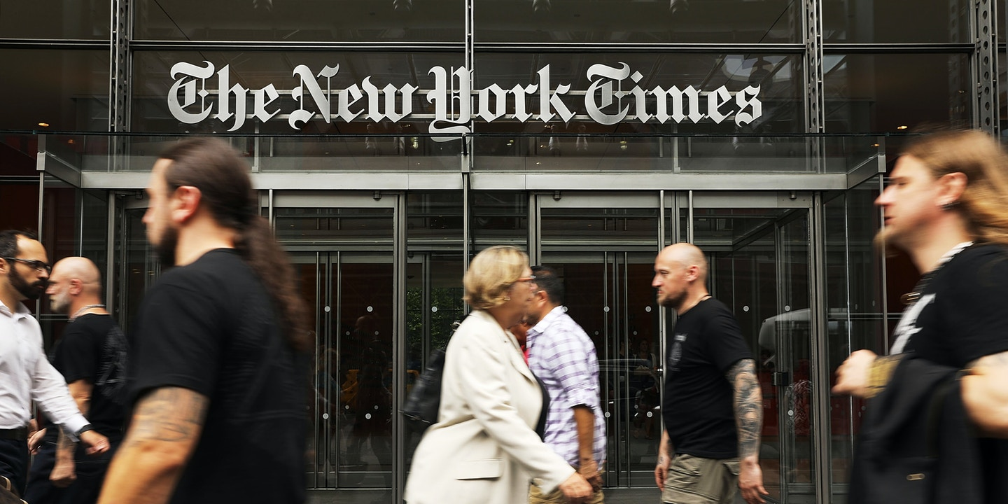 Image result for ny times the angry press