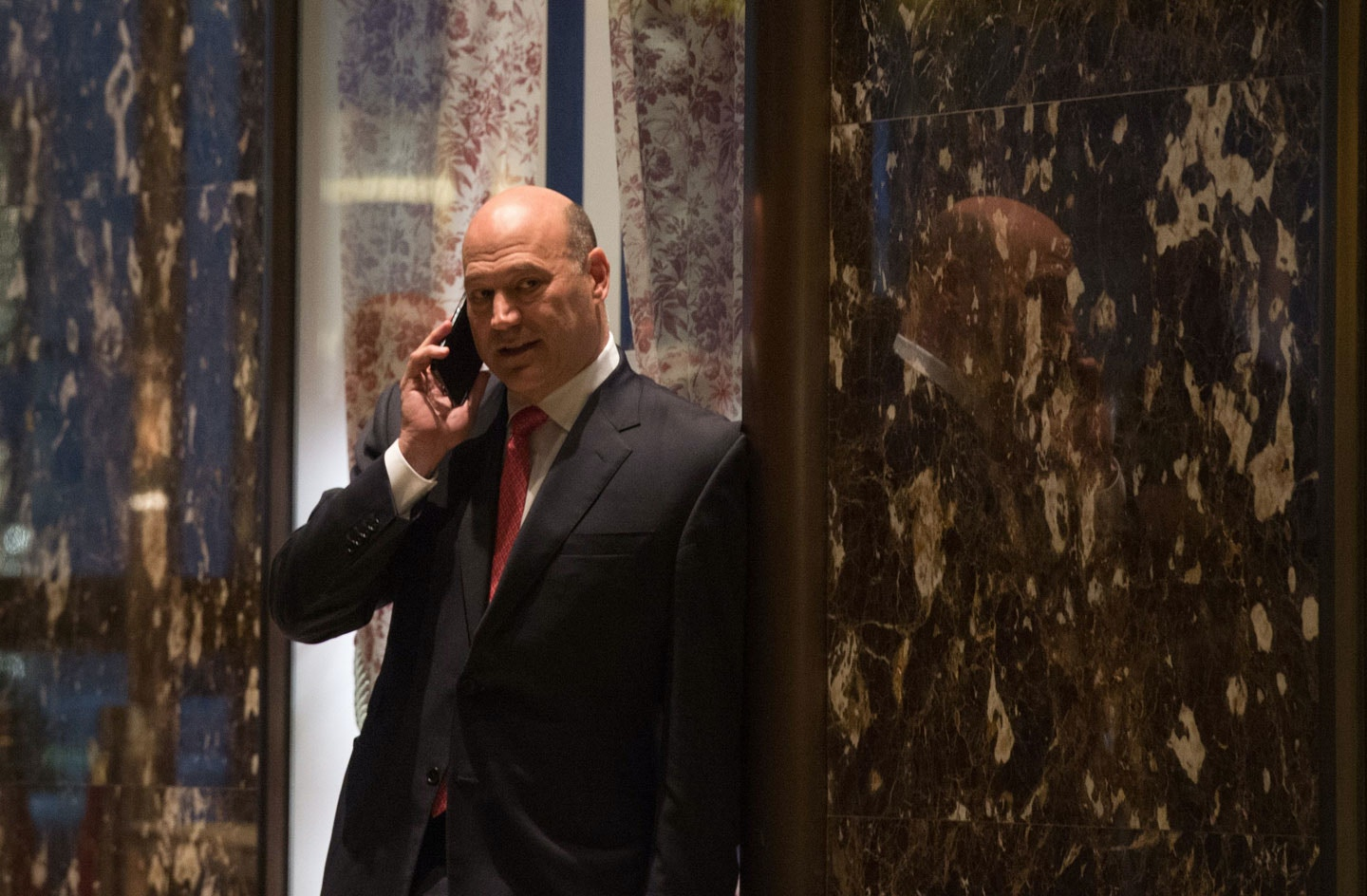 Goldman Sachs president and COO Gary Cohn arrives for a meeting with President-elect Donald Trump at Trump Tower in New York November 29, 2016. / AFP / Bryan R. Smith        (Photo credit should read BRYAN R. SMITH/AFP/Getty Images)