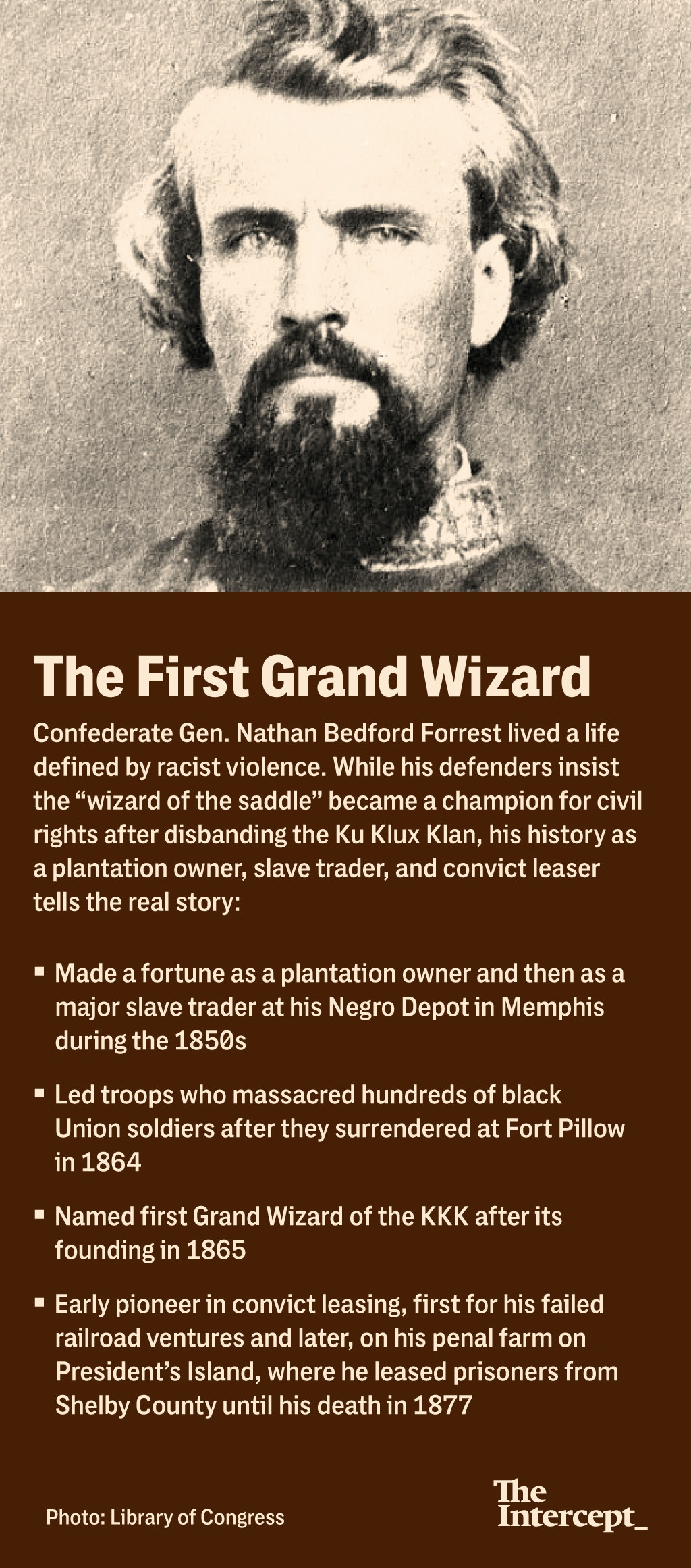 Profile of Nathan Bedford Forrest