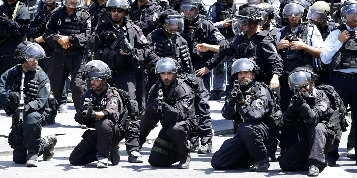 Israel Trains D C  Police Over City Council Objections