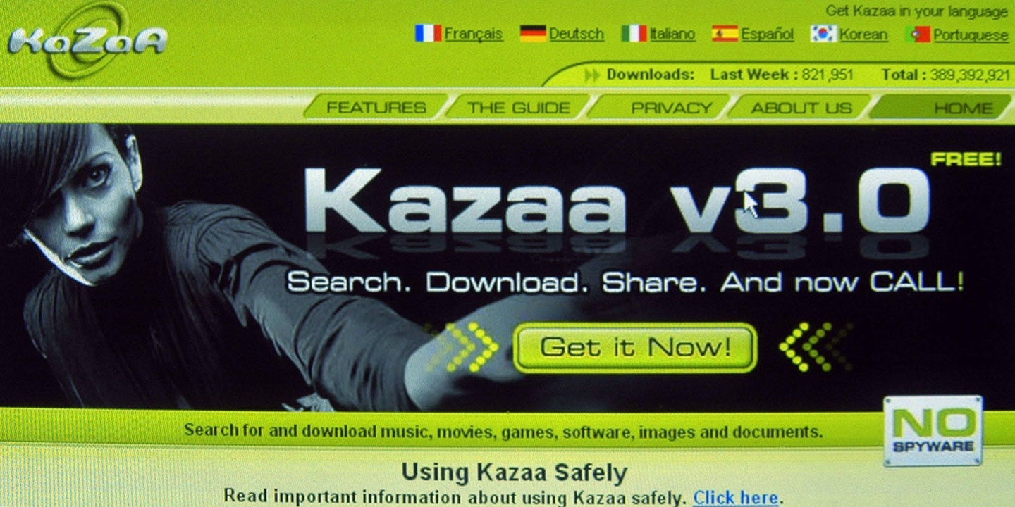 kazaa light italiano