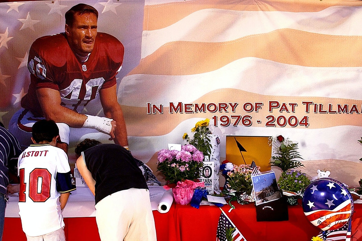 The NFL, the MilItary, and the Hijacking of Pat Tillman's Story