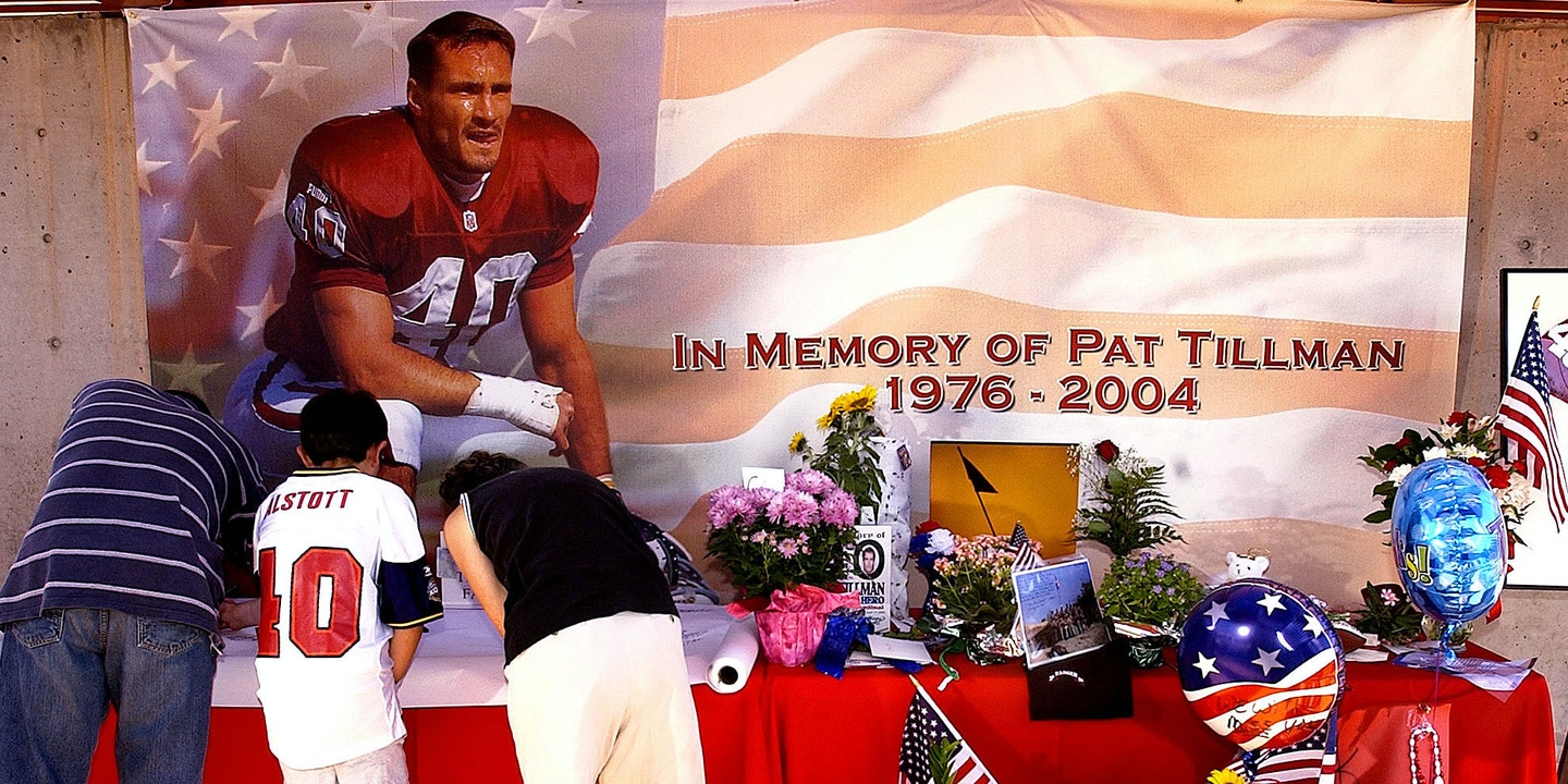 2bf7804a The NFL, the MilItary, and the Hijacking of Pat Tillman's Story