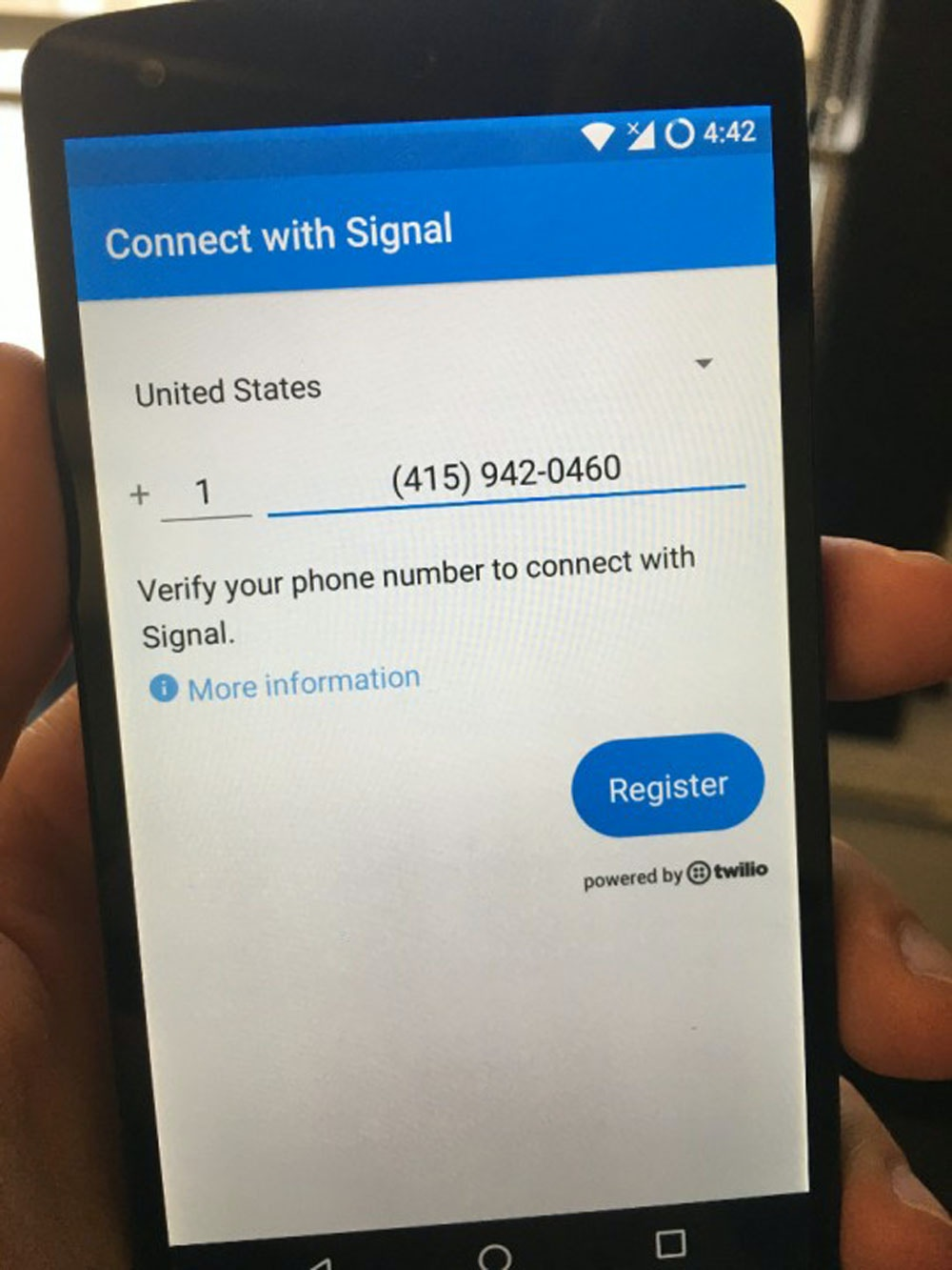 Talk To Strangers on Signal With a Public Phone Number