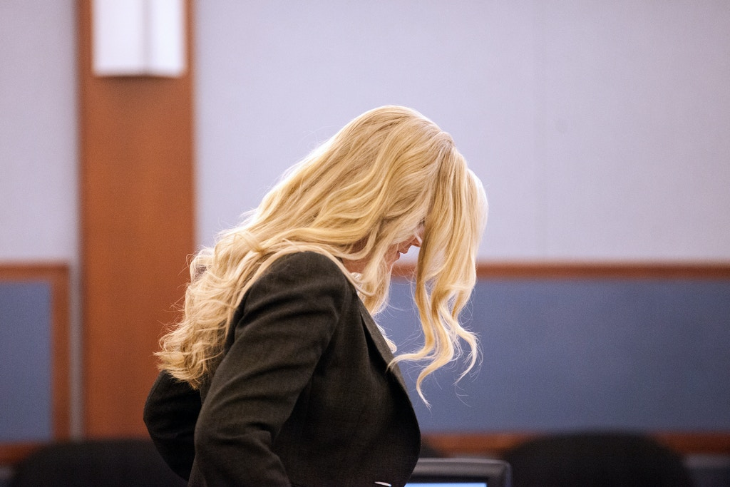 State prosecutor, Sandra DiGiacomo, on Oct. 12, 2017 during the hearing of Kirstin Lobato's case.
