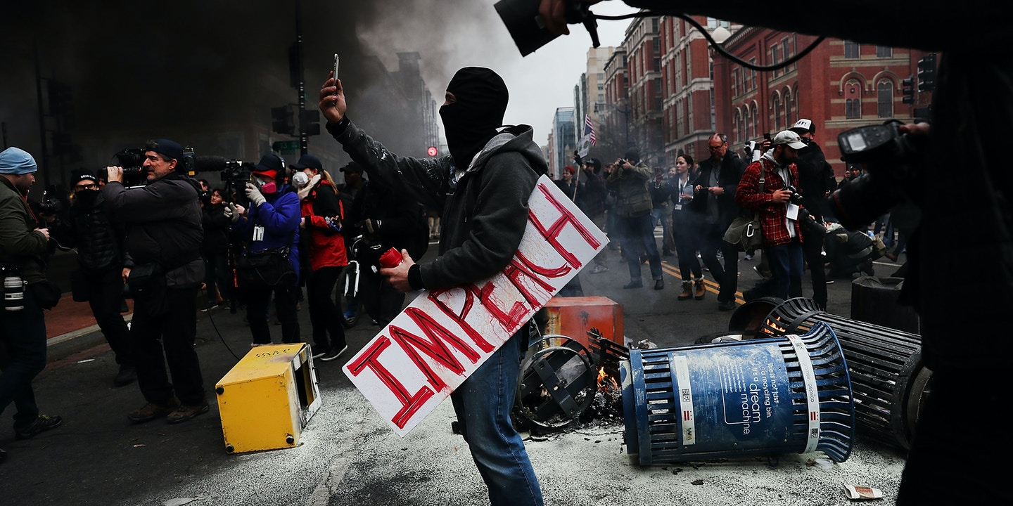 Conspiracy Charges Loom Over Inauguration Day Protest Trial