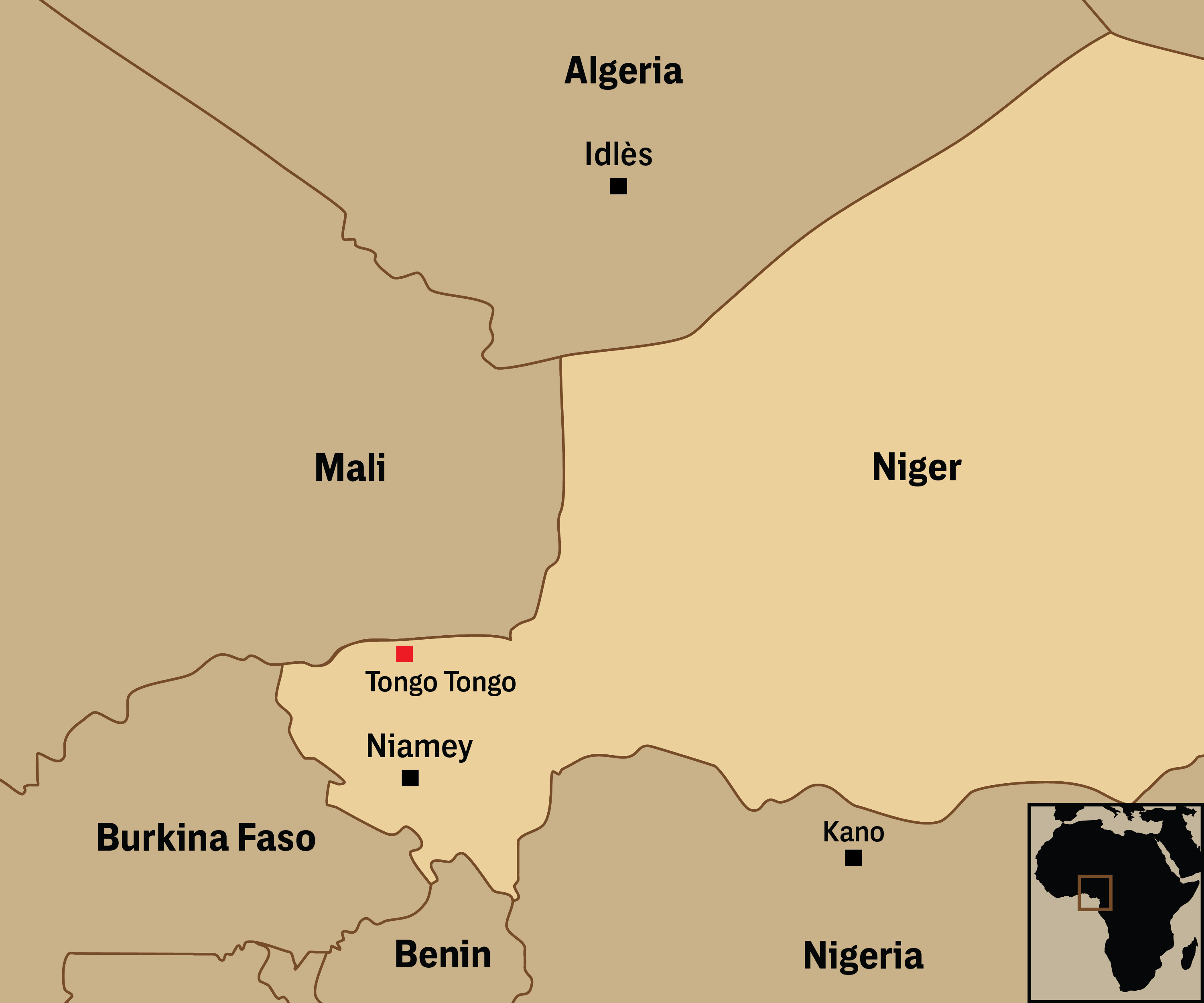Its Not Just Niger US Military Activity Is a Recruiting Tool