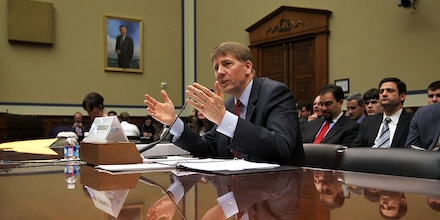 WASHINGTON, DC - JANUARY 24:  Consumer Financial Protection Bureau Director Richard Cordray testifies during a hearing before the TARP, Financial Services and Bailouts of Public and Private Programs Subcommittee of the House Oversight and Government Reform Committee January 24, 2012 on Capitol Hill in Washington, DC. The hearing was to focus on the Consumer Financial Protection Bureau.  (Photo by Alex Wong/Getty Images)