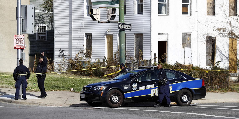 Baltimore Police Barricaded Neighborhood For A Week