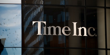 NEW YORK, NY - NOVEMBER 27: A view of the Time Inc. office building, November 27, 2017 in New York City. Magazine publisher and broadcast company Meredith Corp. is acquiring Time Inc. in a deal valued at nearly $3 billion. (Photo by Drew Angerer/Getty Images)