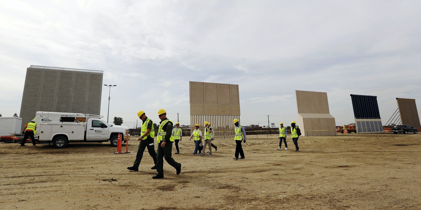 Wall Street Investors Plan To Cash In On Trump S Border Wall