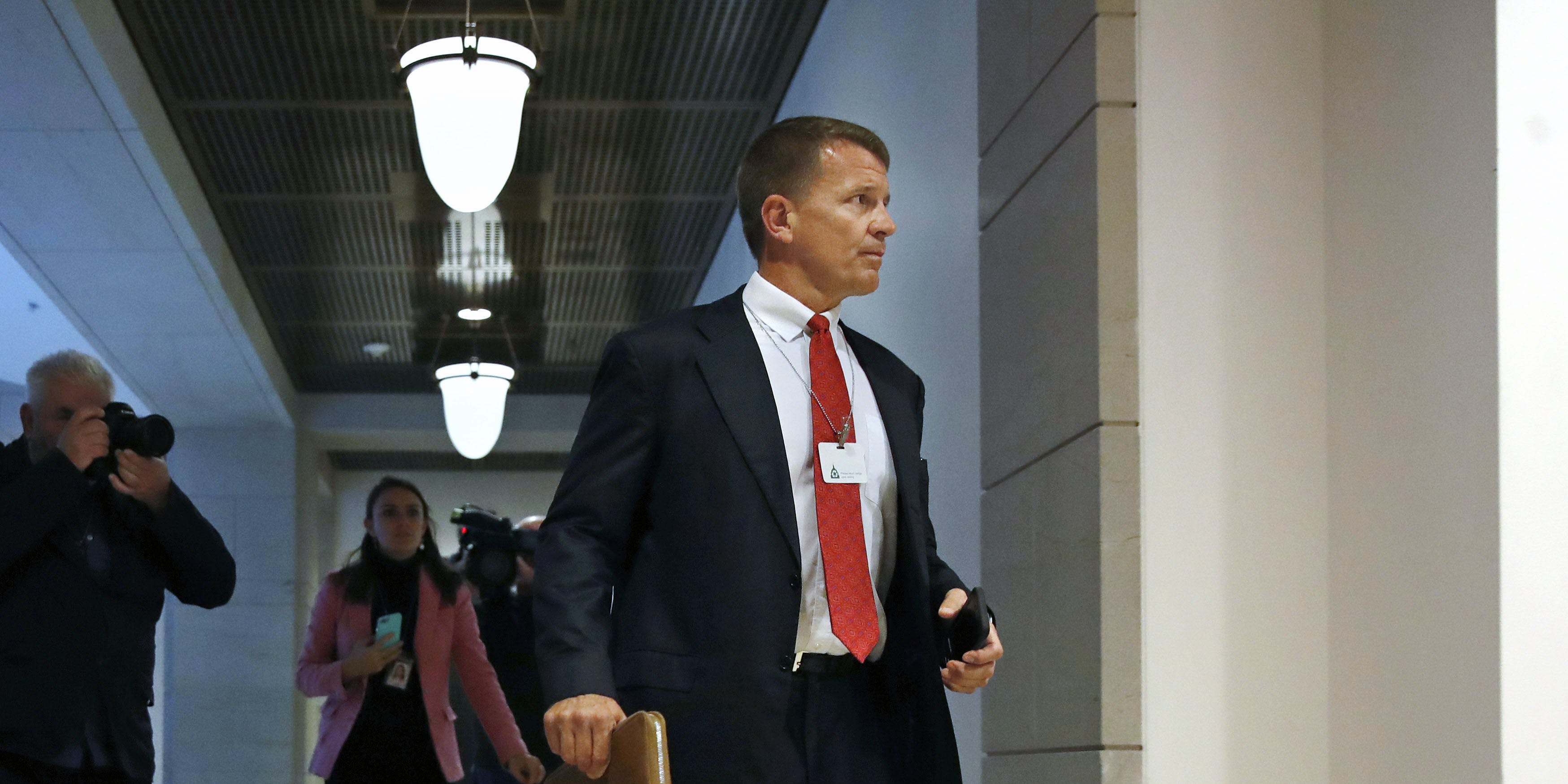 Image result for Former Blackwater CEO Erik Prince Admits He Met In Trump Tower With Saudis And Donald Trump Jr.