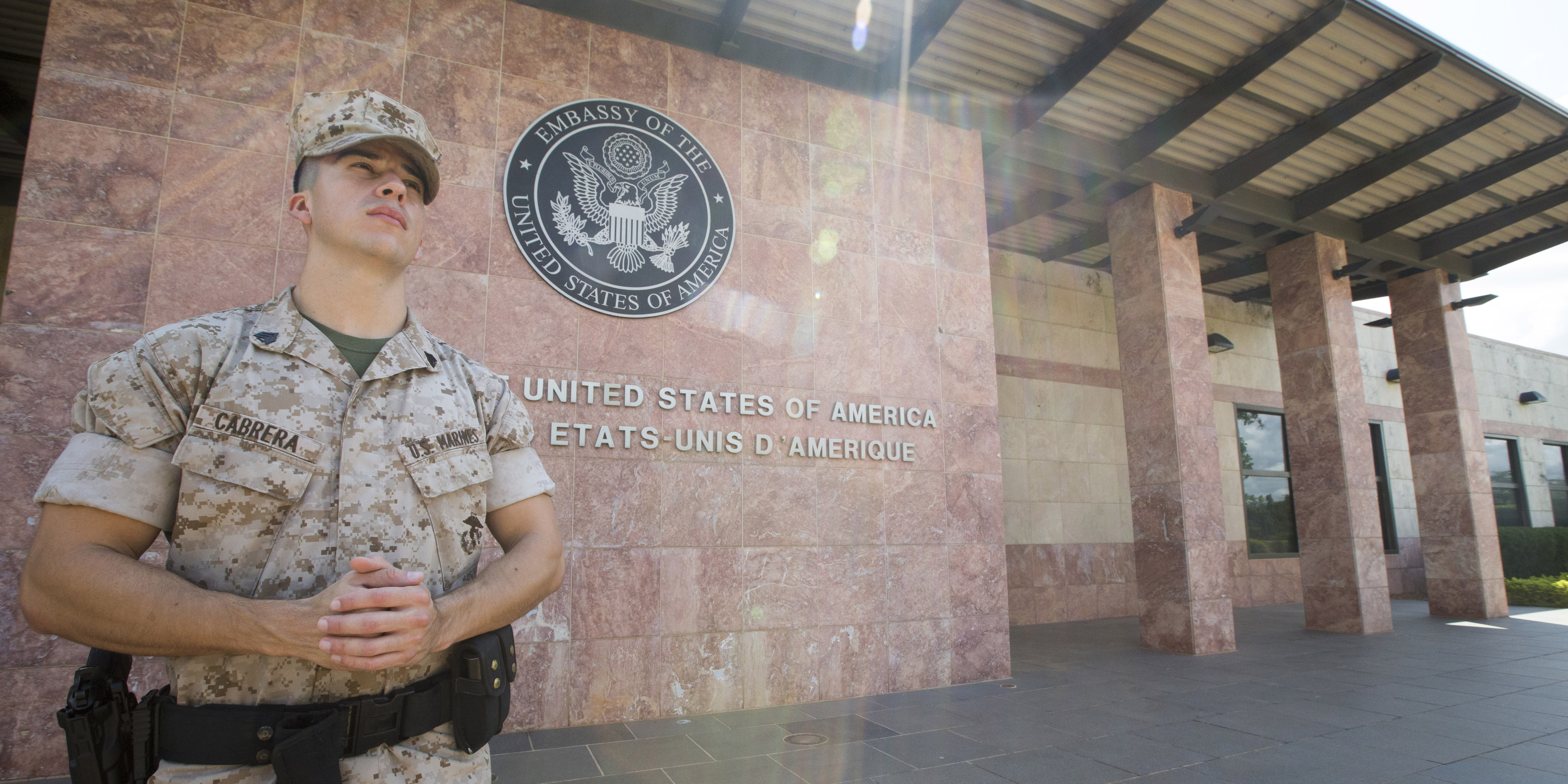 marine corps embassy security group