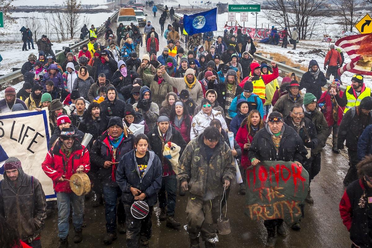 Dakota Access Pipeline Company Paid Mercenaries to Build Conspiracy Lawsuit Against Environmentalists